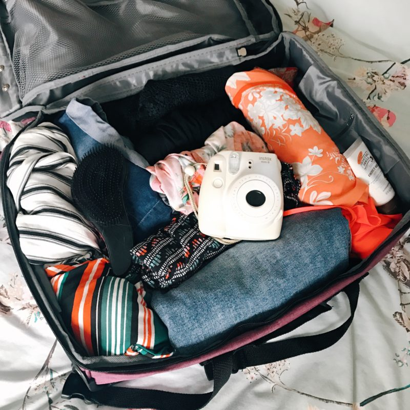 How I'm packing and bringing hand luggage only