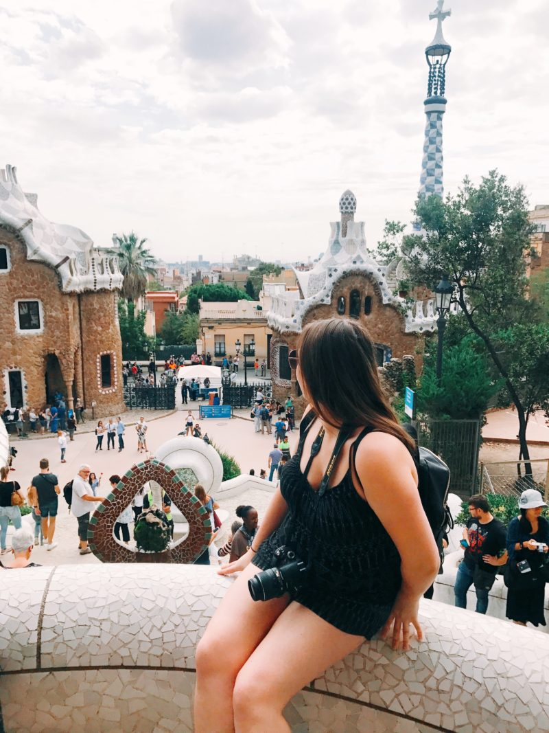 Backpacking to Barcelona, Spain