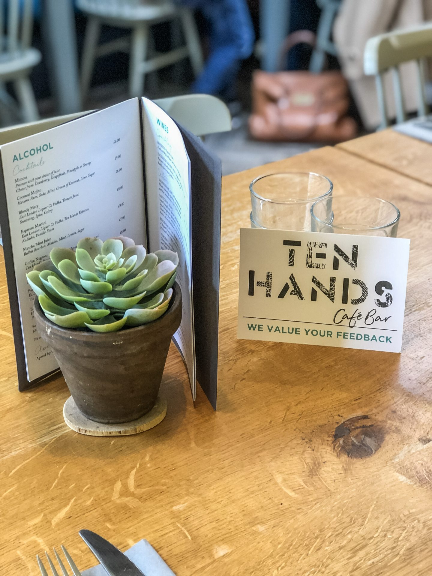 Ten Hands Cafe Bar | Nicole Navigates