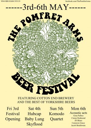 The Pomfret Arms Beer Festival