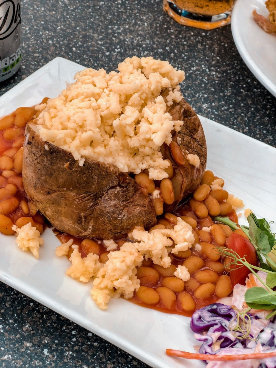 Northamptonshire Jacket Potato | Nicole Navigates