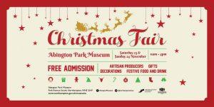 Christmas Fair @ Abington Park Museum
