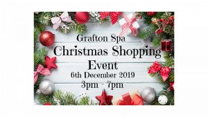 Grafton Spa Christmas Shopping Event 2019 @ Grafton Spa & Wellness