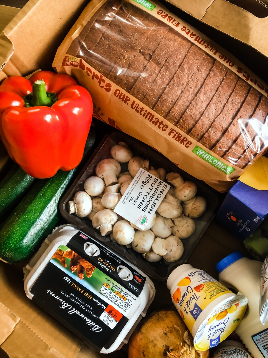 Local Grocers delivery box