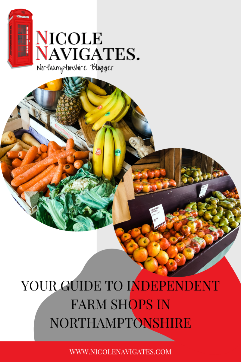 Your Guide to Independent Farm Shops in Northamptonshire Pin