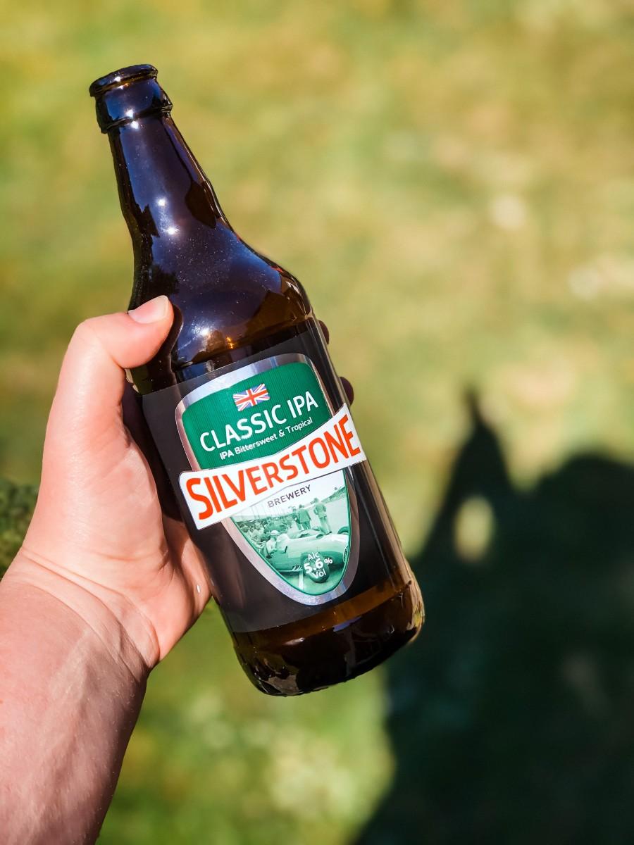Silverstone Brewery bottle