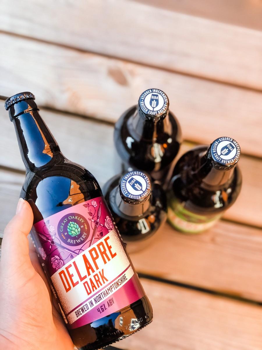 Great Oakley Delapre Park bottle