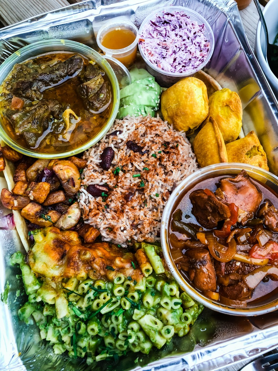 Caribbean Fusion Takeaway from Potterspury House