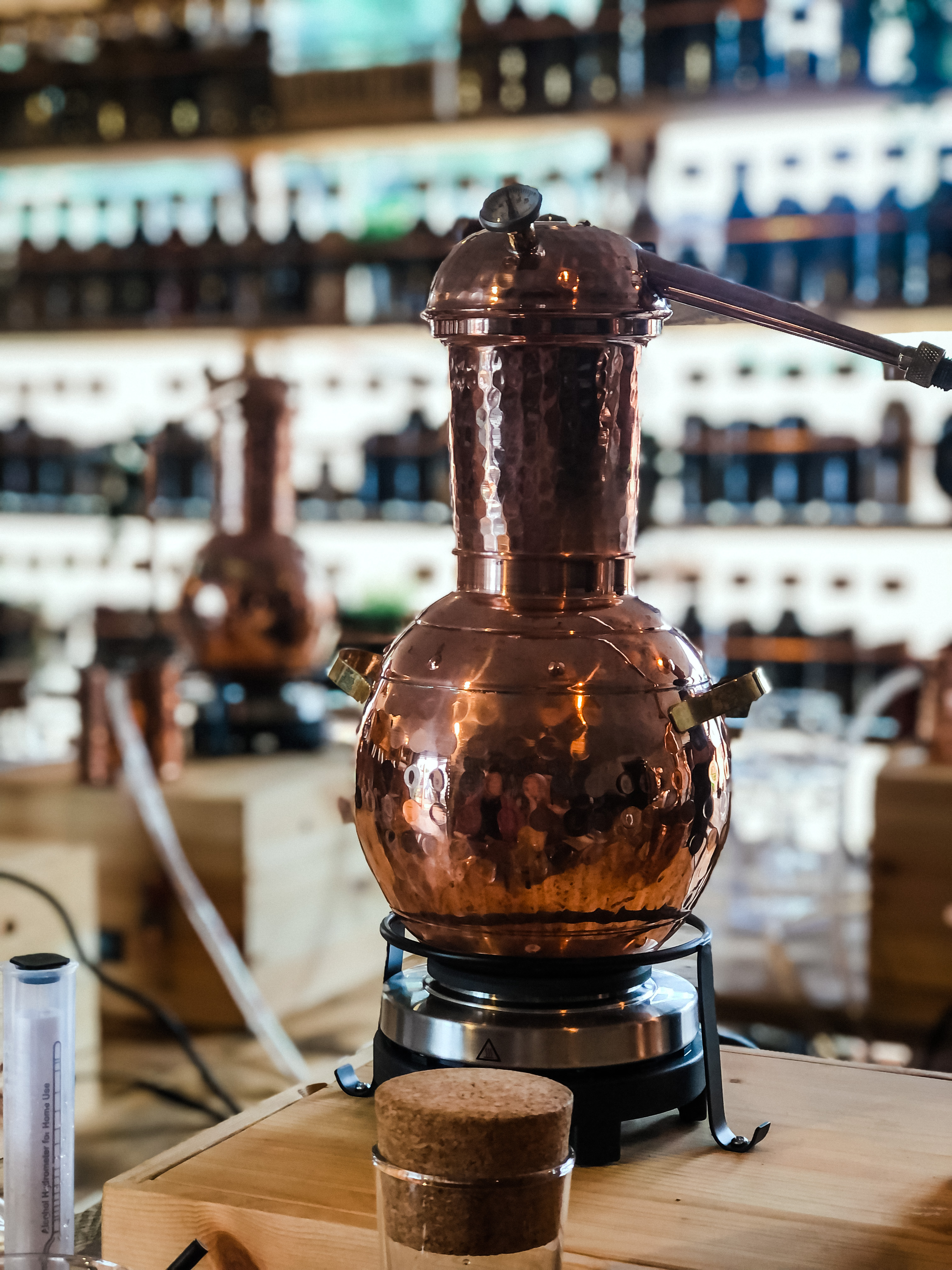 Gin School Copper Pot at Silverstone Distillery